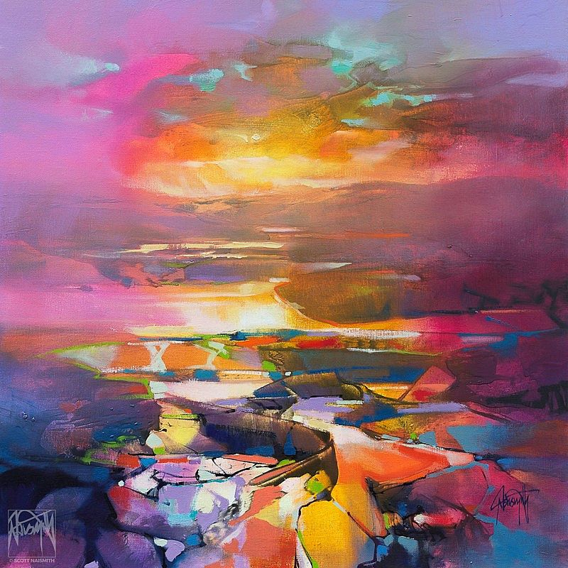 Highland Magenta by Scott Naismith