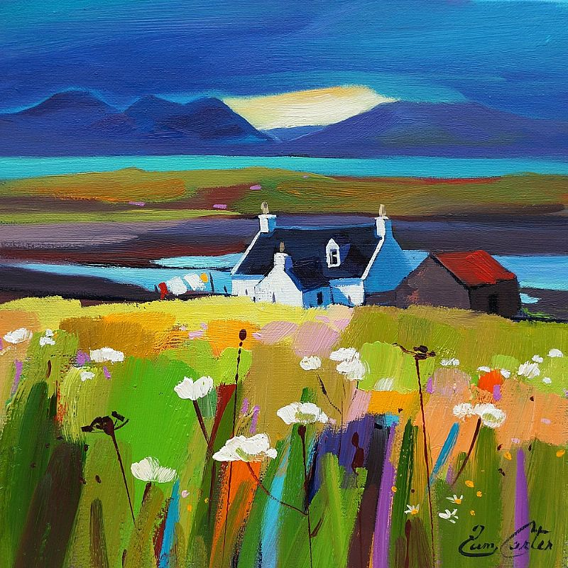 Pam Carter - Sunlit Croft