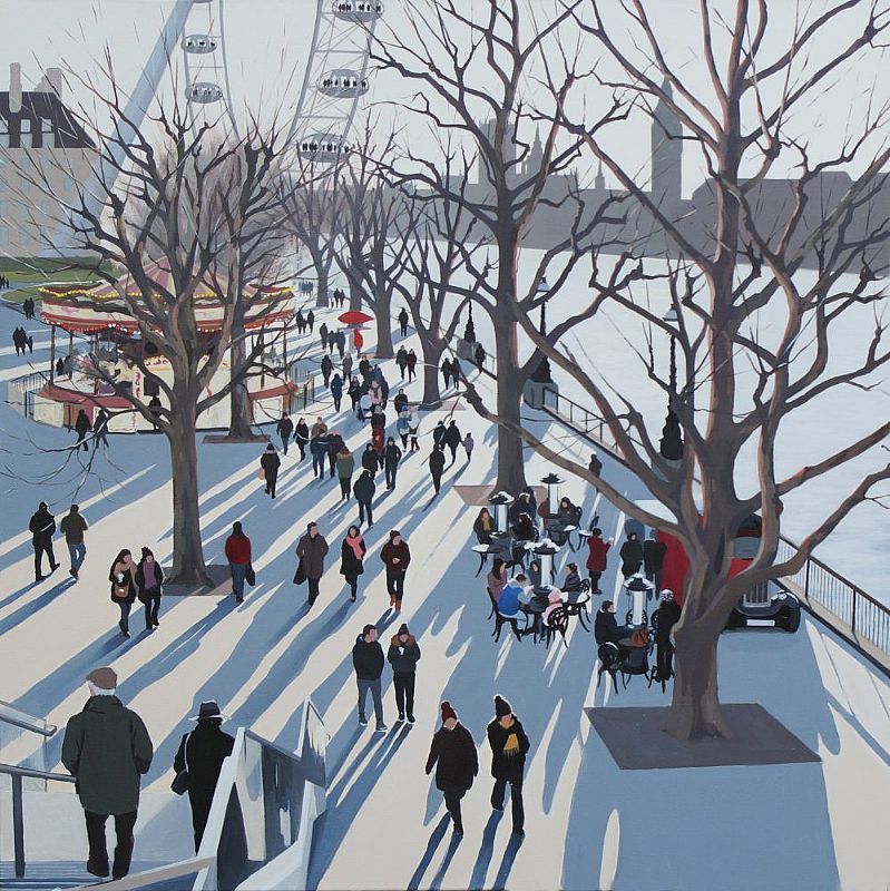 Winter Festival Southbank by Jo Quigley