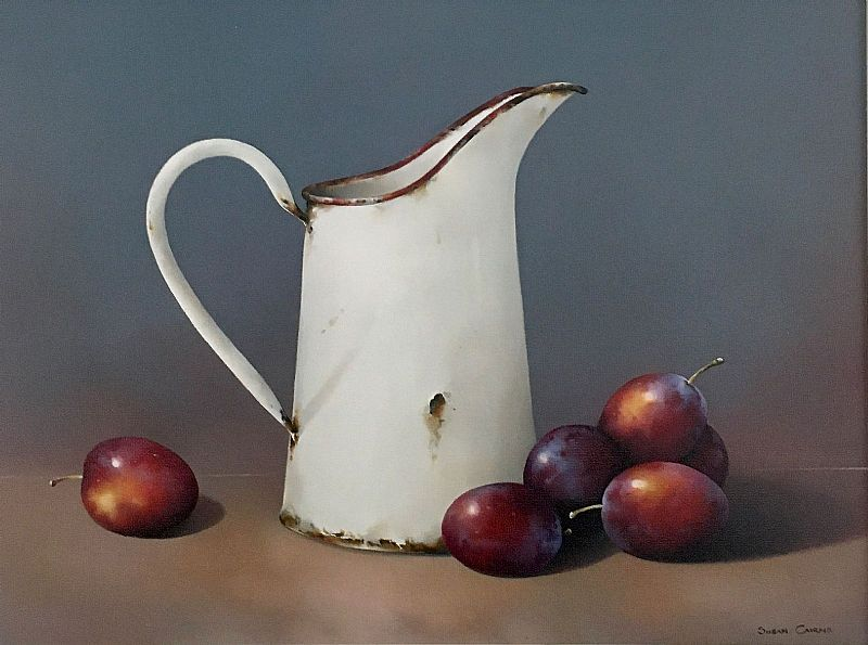 A Pitcher of Plums by Susan Cairns