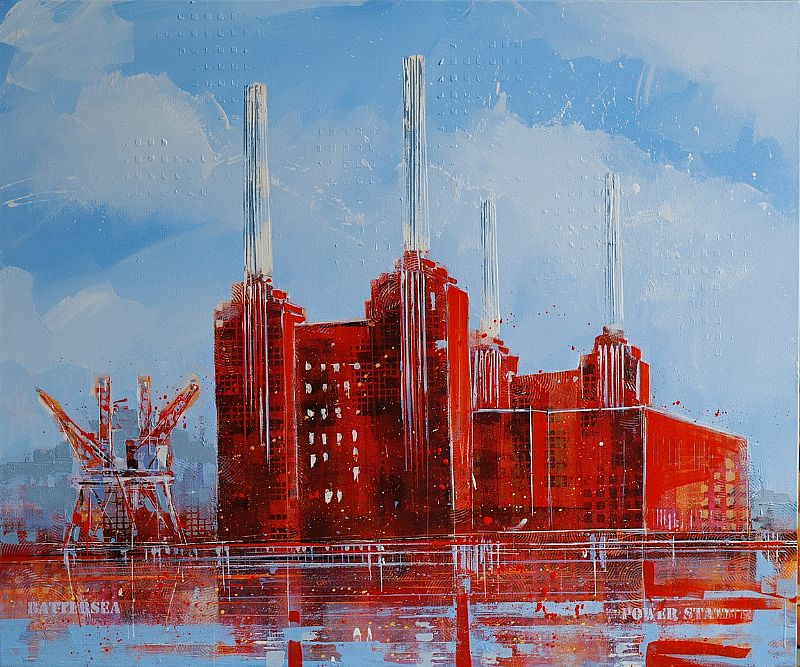 Richard Knight - Battersea Morning II