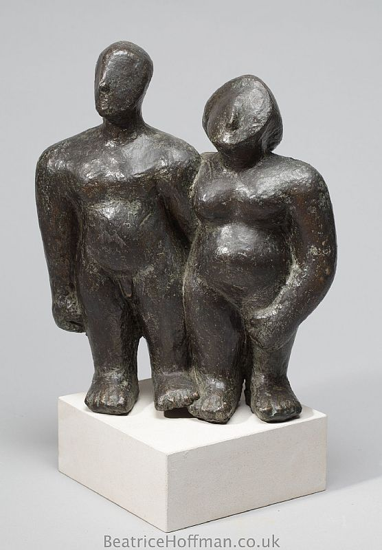 Beatrice Hoffman - Couple Side by Side