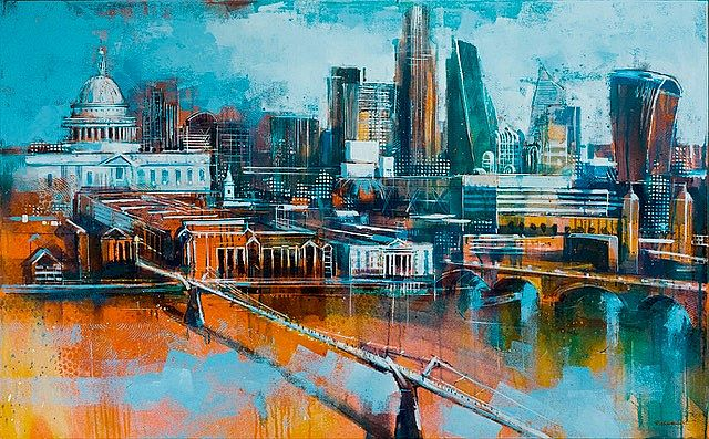 Bridge to the City by Richard Knight
