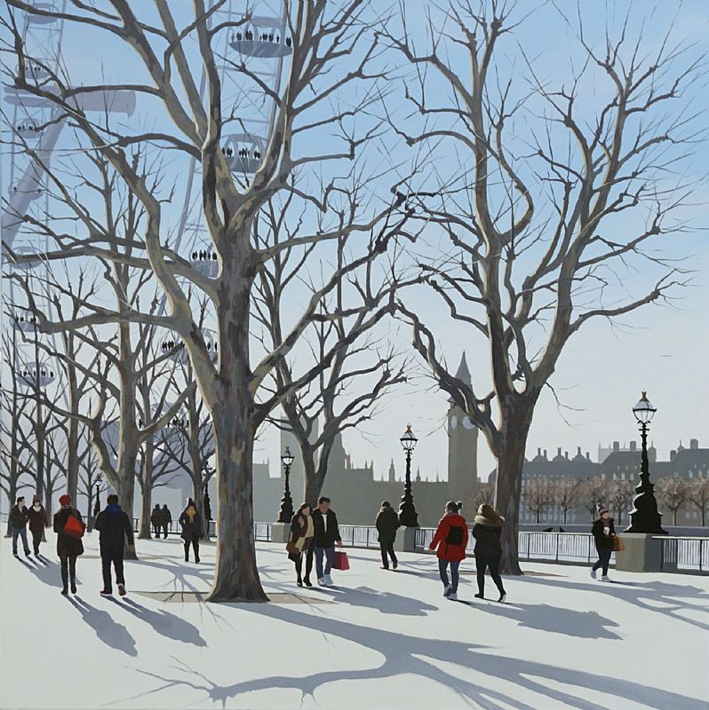Jo Quigley - Bright Winter Morning, South Bank