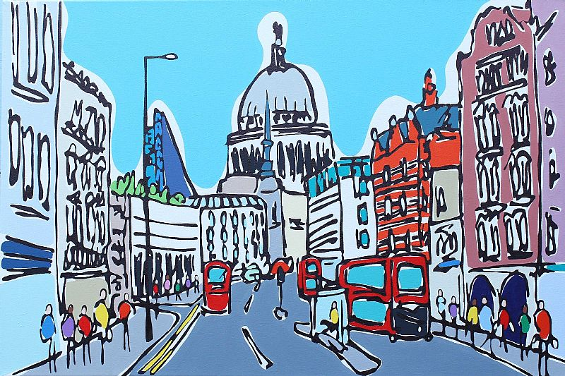 Rachel Tighe - Colours of Fleet Street