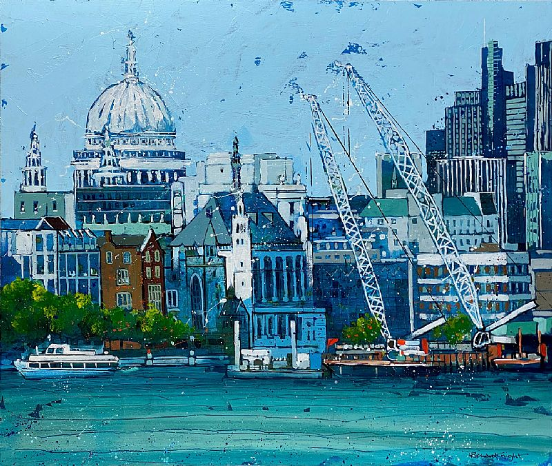 Richard Knight - Cranes & St Paul's