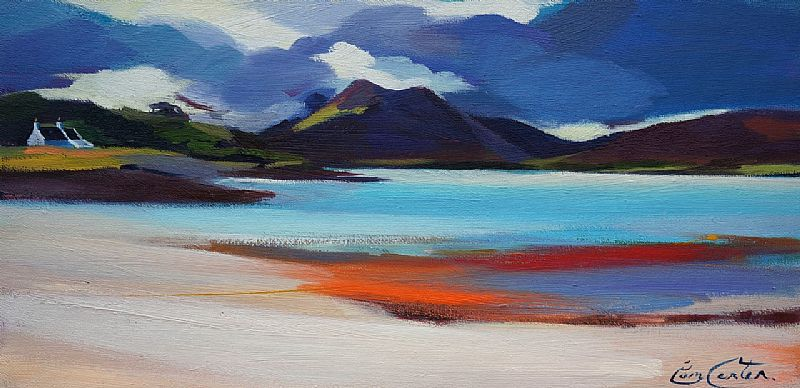 Cuillin From Raasay by Pam Carter