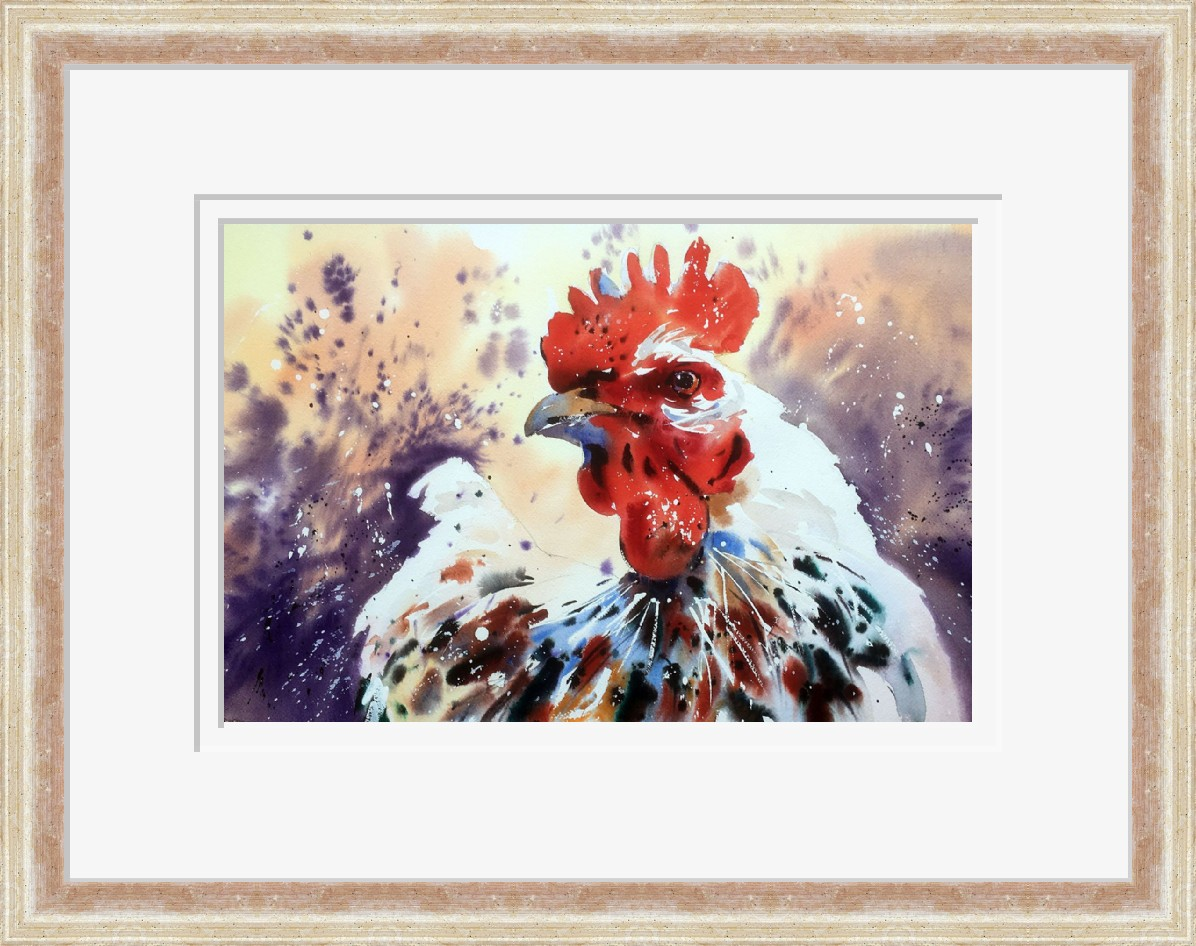 Hen with Attitude by Jake Winkle