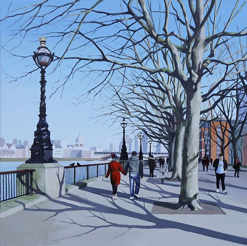 January Stroll by Jo Quigley