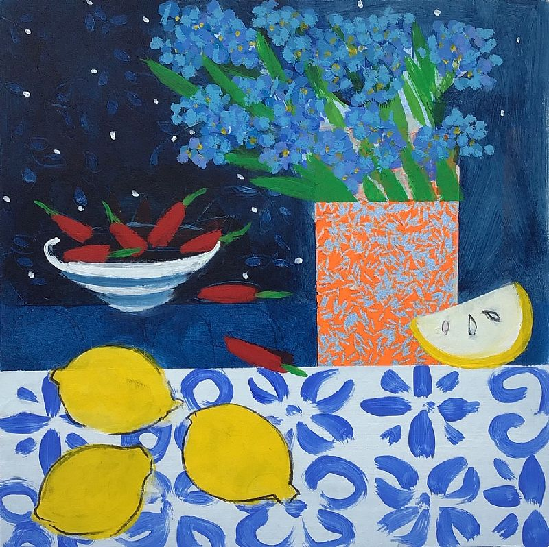 Little Forget me not and lemons  by Relton Marine