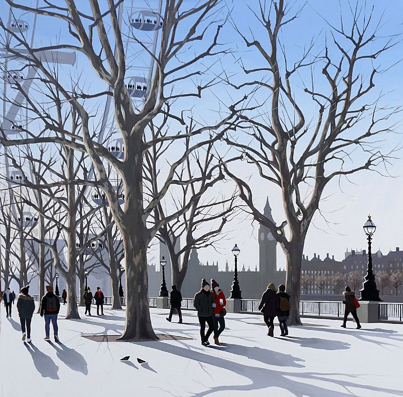 Jo Quigley - Mid Winter, South Bank