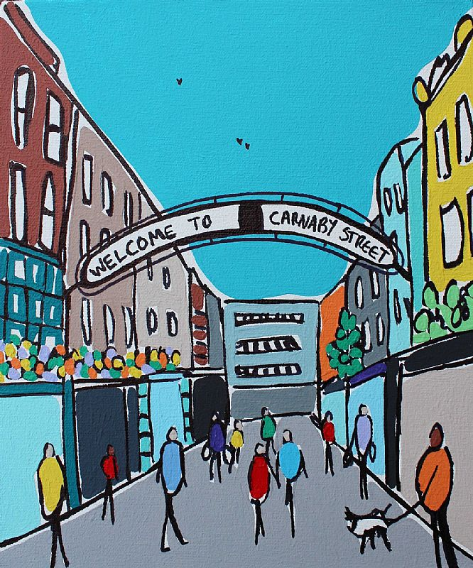 Mini Carnaby Street by Rachel Tighe