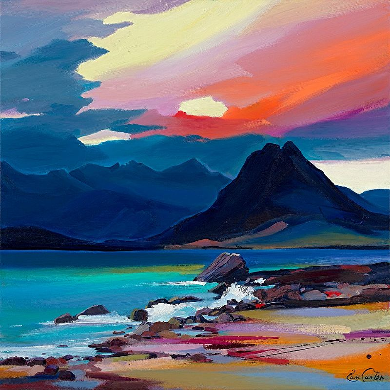 Mood of the Cuillin by Pam Carter