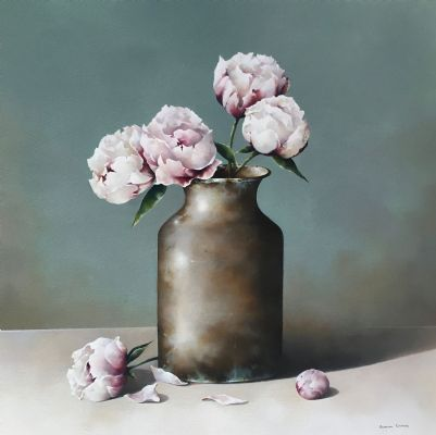 Peonies by Susan Cairns