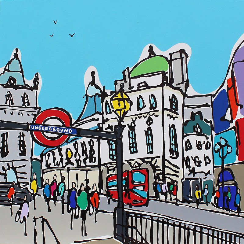 Piccadilly by Day by Rachel Tighe