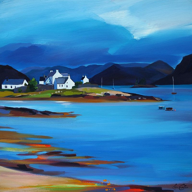 Plockton Cluster by Pam Carter