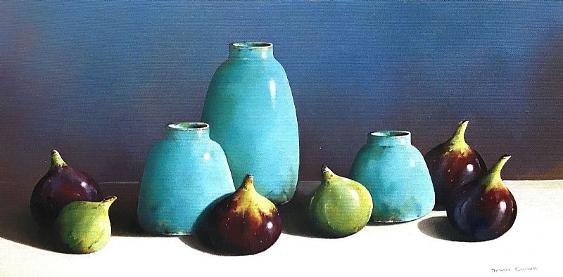 Susan Cairns - Pots and Figs