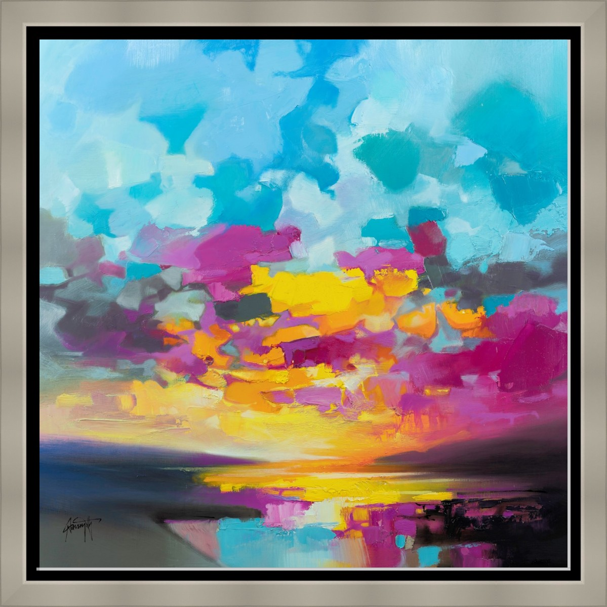 Primary Sunset by Scott Naismith