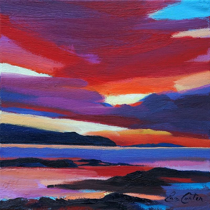 Pam Carter - Red Sky
