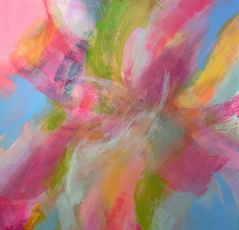 Jane Wachman - Rhythmic Pinks