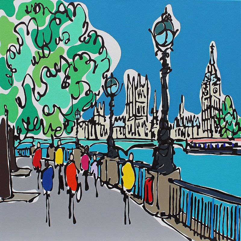 Southbank by Day by Rachel Tighe