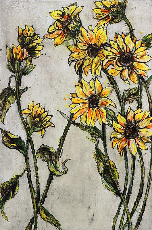 Vicky Oldfield - Summer Blooms A/P