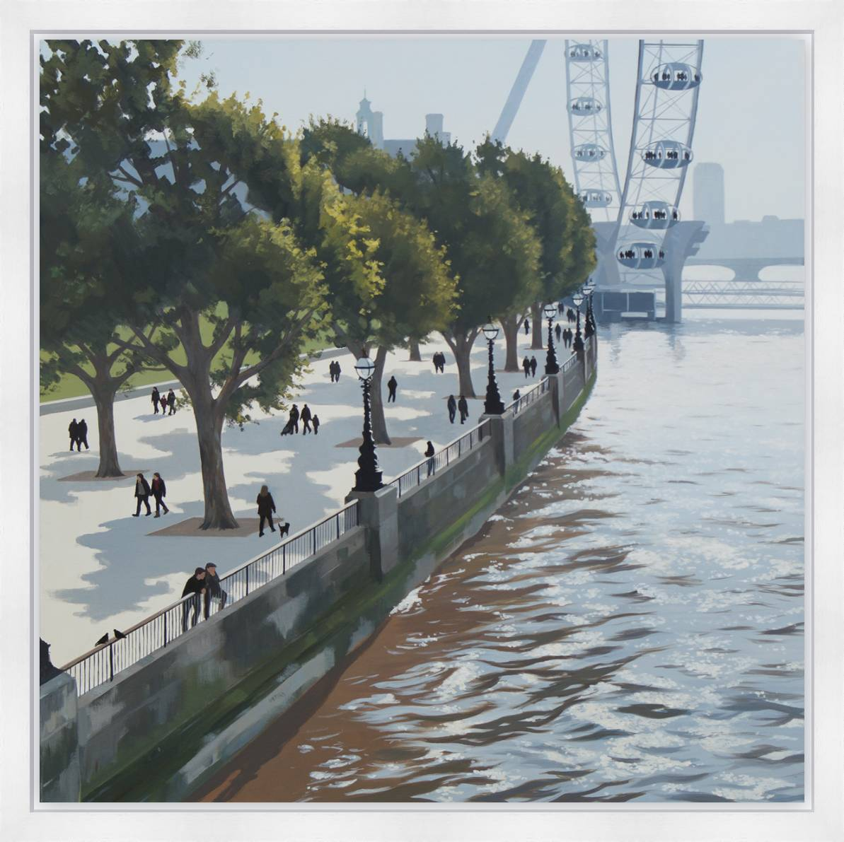 Thames Walk by Jo Quigley