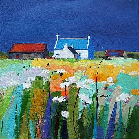 Pam Carter - Blue Roof  to Machair