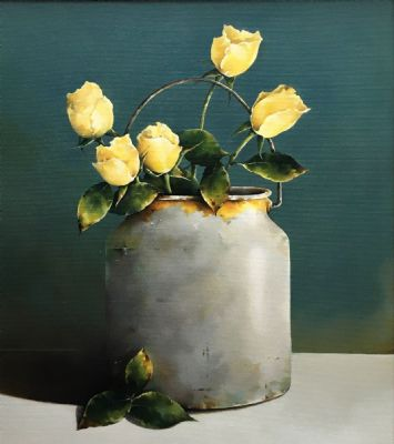 Yellow Roses by Susan Cairns