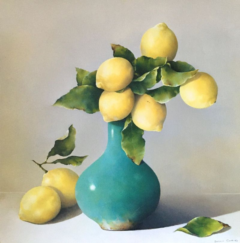 Introducing new gallery artist Susan Cairns with a beautiful collection of still life paintings